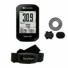 Bryton Rider 420T incl. cadenza + fascia cardio